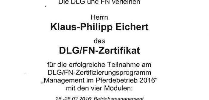 Wir sind DLG/FN zertifiziert